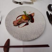 鴨肉の料理