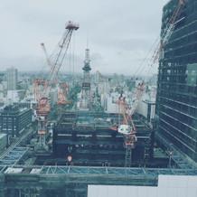 札幌の街が一望できる ヒンメル