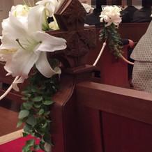 バーシンロードのお花が綺麗です