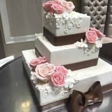ケーキがかわいい