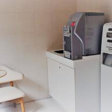 ラウンジの近くに設置されている授乳室