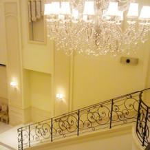 モナコ・階段上