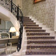 別館はこの階段から再入場する事も可能