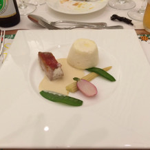 金目鯛がとても美味しかったです。