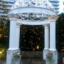 モナコ・ガーデンのガゼボ