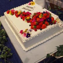 予算内でも可愛いケーキ作ってもらえます