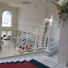 階段もキレイ