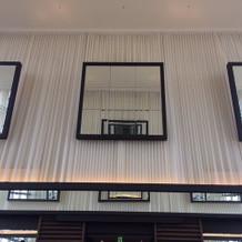 天井が高いです