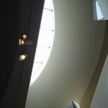 チャペル天井です