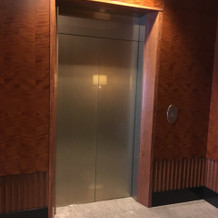 エレベーターです
