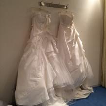 衣装を選ぶ部屋