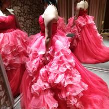 2種類のかたちが楽しめるドレスです。