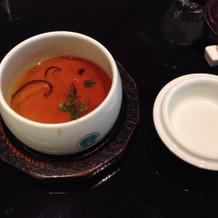 茶碗蒸し美味しかったです