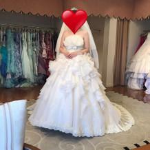 一目惚れしたBarbieのドレスです。