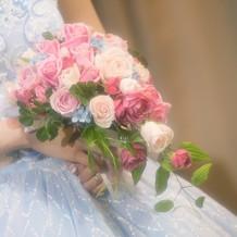 カラードレス用ブーケ
