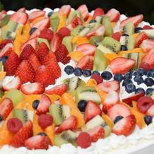 オーダーメイドウェディングケーキ