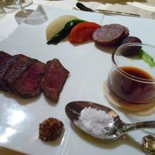 メイン お肉と焼き野菜