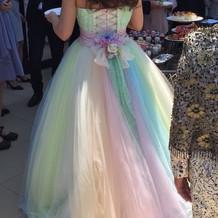 フォーシスのドレスです