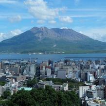 桜島の眺めは最高!