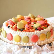 入刀用ケーキ