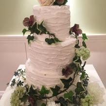 ビスカヤガーデン ウェディングケーキ例