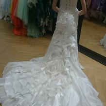 ウェディングドレス(マーメイド)