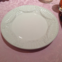 ティファニーのお皿