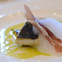 白魚とズッキーニのグリル