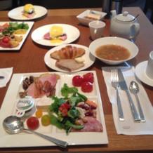 朝食ビュッフェとても美味しい