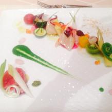 海鮮ぷりぷり前菜