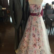 新着のドレス