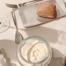 パン&ホイップバター
