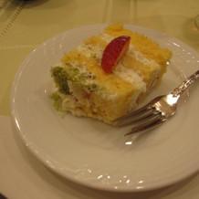 オリジナルの生ケーキ