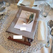 テーブル上の小物
