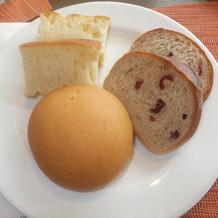 パン たくさん種類がありました