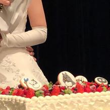 トトロのウェディングケーキ