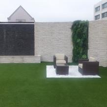 ガーデンチャペル横のスペース