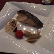 鱈の西京焼