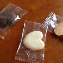 プチギフトは、クッキー