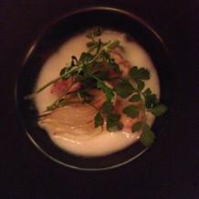 新玉ねぎのスープ