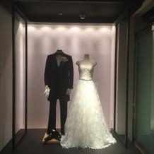 とても素敵なドレスショップ