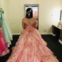 理想通りのドレスに出会えました