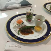 試食会のお料理です。