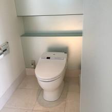 新婦控え室トイレ