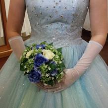 カラードレスもとても素敵でした。