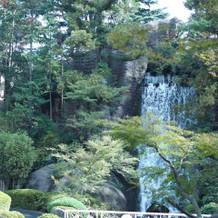 滝がとても素敵でした