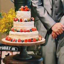 ケーキもとっても美味しかったです!