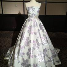 フェア時飾られてあったドレス