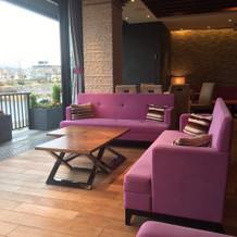カフェスペースです。