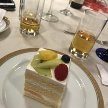 特別に一人ずつケーキをつけてもらいました